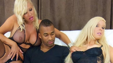 Michelle Thorne - Michelle, Diana And Black Cock