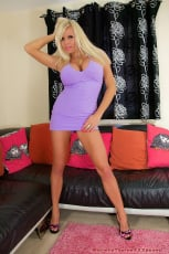 Michelle Thorne - Purple Dress Blowjob (Thumb 01)