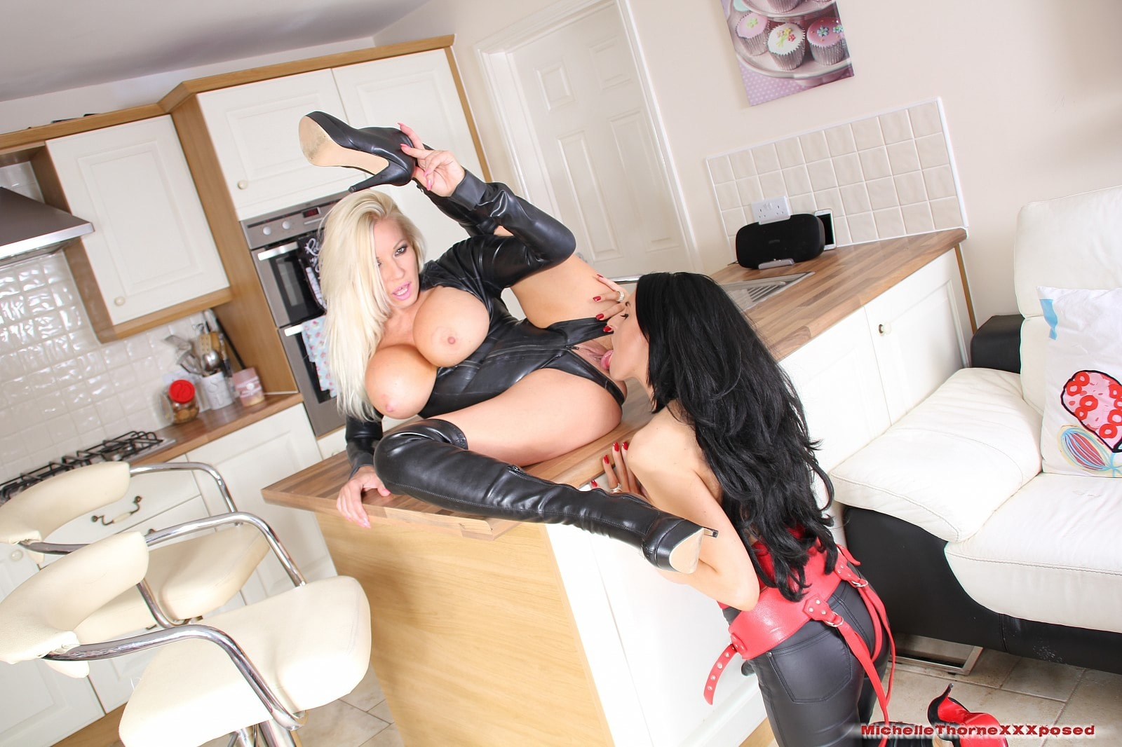 Michelle Thorne 'Riding The Strapon' starring Louise Jenson (photo 7)
