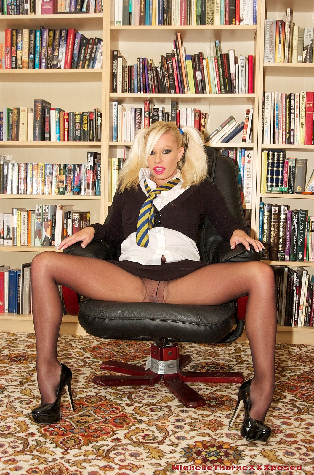 Michelle Thorne 'Smoking Schoolgirl Slut' starring Michelle Thorne (photo 1)