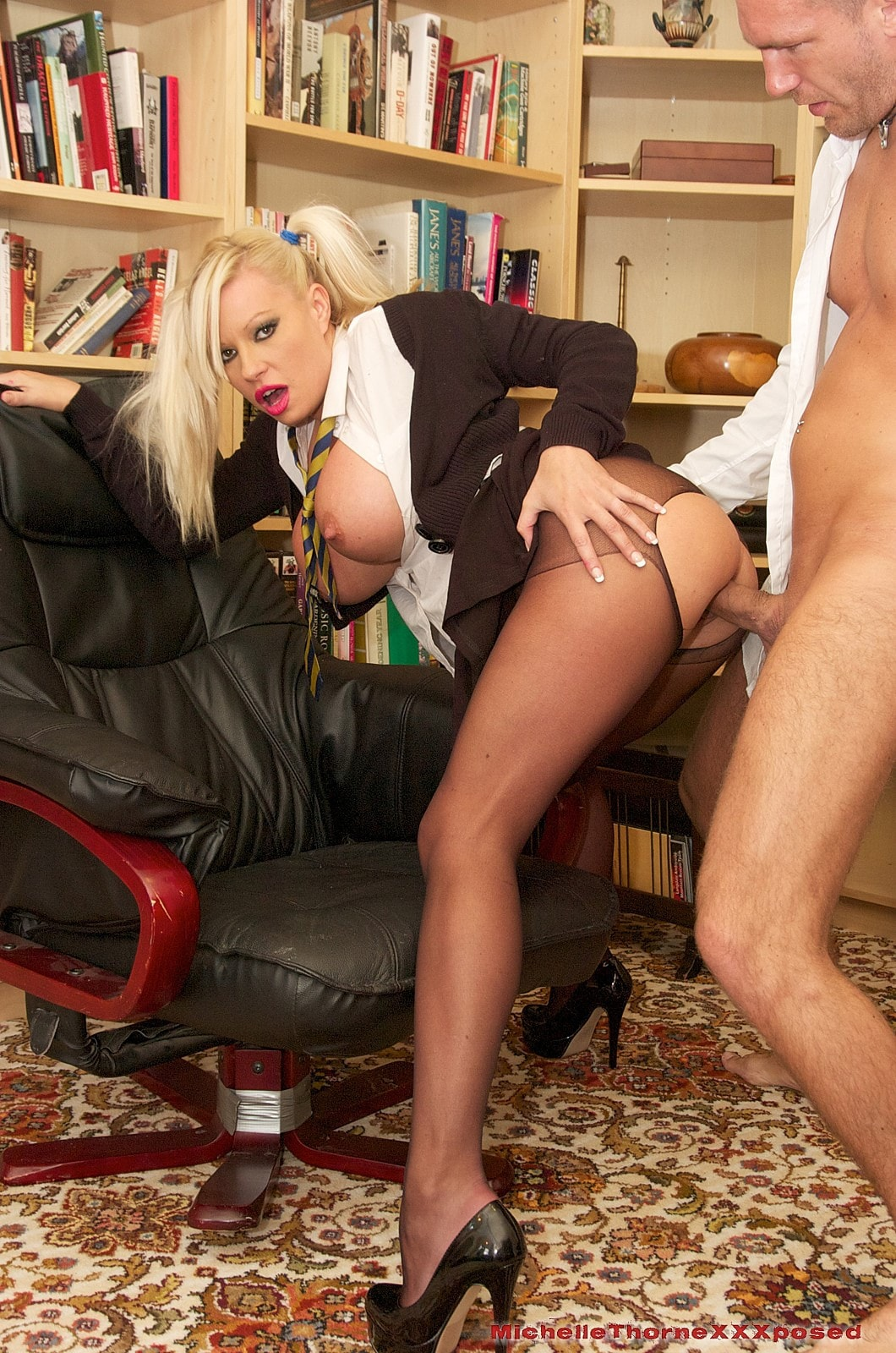 Michelle Thorne 'Smoking Schoolgirl Slut' starring Michelle Thorne (photo 13)