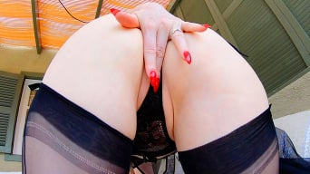 Red XXX in 'Let's Wank!'