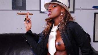 Jasmine Webb in 'Gangster with Cigar'