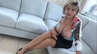 Lady Sonia in 'Aunt Sonia Punishes Her Nephew For Edging And Wanking'