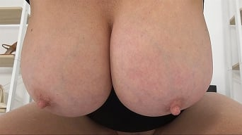 Lady Sonia in 'Aunties BIG 36F Tits As You Edge'