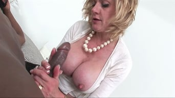 Lady Sonia in 'Black cock milking'