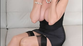 Lady Sonia in 'Busty trophy wife'