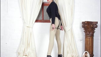 Lady Sonia in 'Jodhpurs mistress'