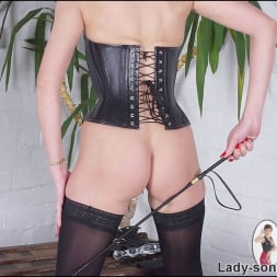 Lady Sonia in 'Lady Sonia' Leather corset milf (Thumbnail 7)