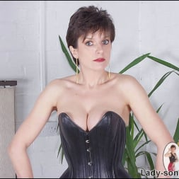 Lady Sonia in 'Lady Sonia' Leather corset milf (Thumbnail 8)