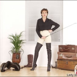 Lady Sonia in 'Lady Sonia' Leather thigh boots (Thumbnail 1)