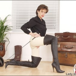 Lady Sonia in 'Lady Sonia' Leather thigh boots (Thumbnail 10)