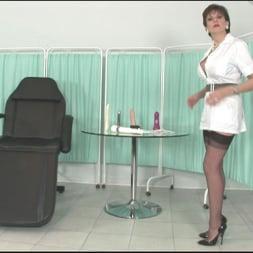 Lady Sonia in 'Lady Sonia' Leggy milf nurse (Thumbnail 1)
