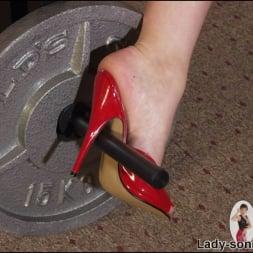 Lady Sonia in 'Lady Sonia' Leotard gym milf (Thumbnail 9)