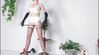 Lady Sonia in 'Lingerie dominatrix'