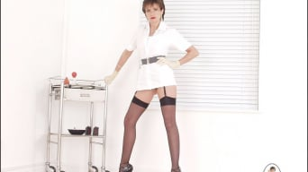 Lady Sonia in 'Long legs nurse'