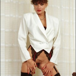 Lady Sonia in 'Lady Sonia' Long nylon legs (Thumbnail 1)