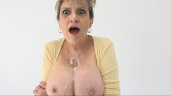 Lady Sonia in 'Shoot All Over My Big MILF Porn Tits'