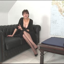 Lady Sonia in 'Lady Sonia' Sybian riding mature (Thumbnail 1)