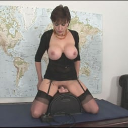 Lady Sonia in 'Lady Sonia' Sybian riding mature (Thumbnail 10)