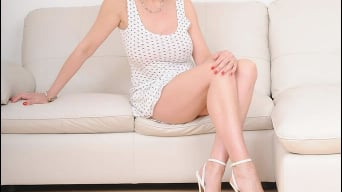 Lady Sonia in 'White panties milf'