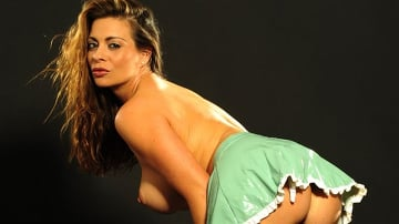 Linsey Dawn McKenzie - Naughty Latex Nurse