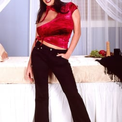 Linsey Dawn McKenzie in 'Linsey Dawn McKenzie' Red Top (Thumbnail 1)