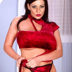 Linsey Dawn McKenzie in 'Linsey Dawn McKenzie' Red Top (Thumbnail 8)