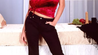 Linsey Dawn McKenzie in 'Red Top'