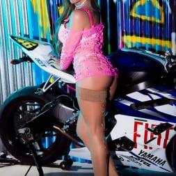Lynda Leigh in 'Lynda Leigh' Biker Strip (Thumbnail 3)