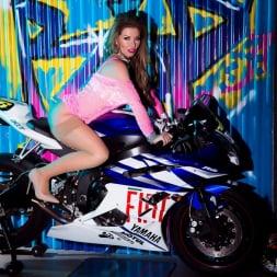 Lynda Leigh in 'Lynda Leigh' Biker Strip (Thumbnail 4)