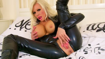 Michelle Thorne in 'Black Latex Burglar Fuck'