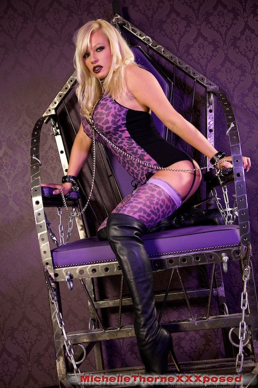Michelle Thorne 'Leather Boots Dildo Bitch' starring Michelle Thorne (Photo 3)