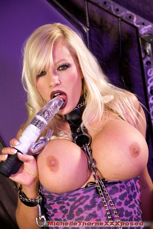 Michelle Thorne 'Leather Boots Dildo Bitch' starring Michelle Thorne (Photo 10)