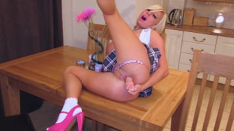 Michelle Thorne in 'Michelle The Naughty Schoolgirl'