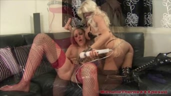 Michelle Thorne in 'And Angel Long'