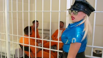 Michelle Thorne in 'Prison Gangbang'