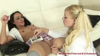 Michelle Thorne in 'Schoolgirl Sluts Michelle Thorne And Chloe Lovette Part 2'