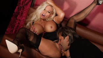 Michelle Thorne in 'Silk Stocking Fuck'
