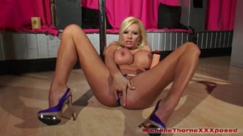 Michelle Thorne in 'Stripper Michelle Fucks Massive Dildo'
