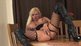 Michelle Thorne in 'The Slut In Boots'