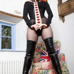 Red XXX in 'Red XXX' Collar and Tie (Thumbnail 2)