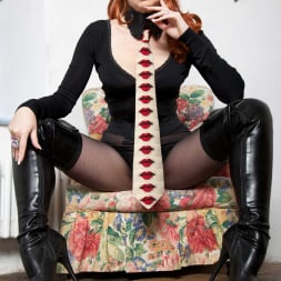 Red XXX in 'Red XXX' Collar and Tie (Thumbnail 3)