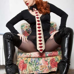 Red XXX in 'Red XXX' Collar and Tie (Thumbnail 4)