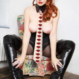 Red XXX in 'Red XXX' Collar and Tie (Thumbnail 8)