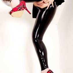Red XXX in 'Red XXX' Latex Leggings (Thumbnail 19)