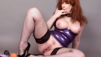 Red XXX in 'Latex Toys'