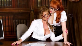 Red XXX in 'Office Politics'