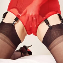 Red XXX in 'Red XXX' Red Knickers (Thumbnail 4)