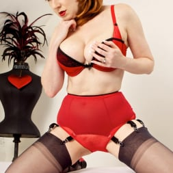 Red XXX in 'Red XXX' Red Knickers (Thumbnail 5)
